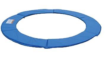 Randabdeckung Randpolsterung Abdeckplane in blau für Trampolin 457 bis 460 cm