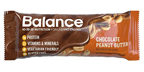 Balance Bar, Healthy Protein Snacks, Chocolate Peanut Butter, 1.76 oz, 6 count