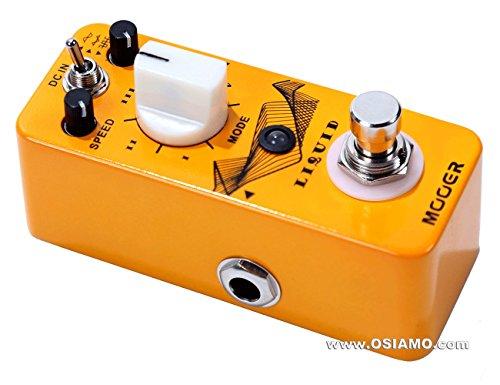 Mooer Audio Liquid, digital 5 mode phaser pedal
