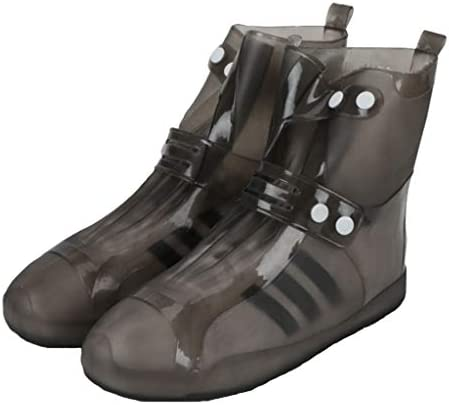 防水靴カバーレディースメンズノンスリップ耐久性のある雨雪ブーツギャロッシュ