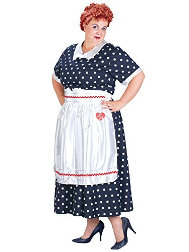Plus Size I Love Lucy Polka Dot (Plus Size I Love Lucy Costume)