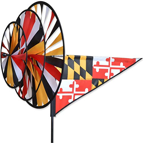 (Premier Kites Triple Spinner - Maryland Flag)