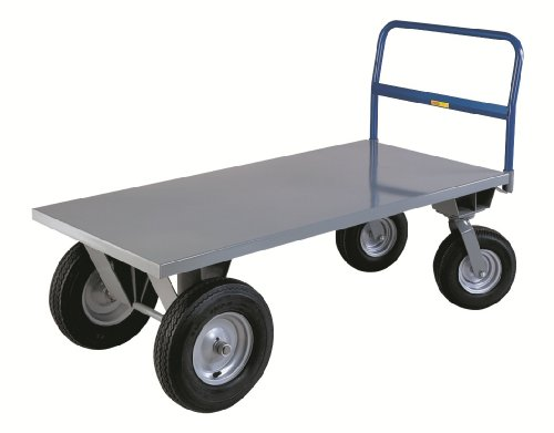 Little-Giant-BB3672B-Steel-High-Deck-Cushion-Load-Platform-Truck-2500-lbs-Capacity-72-Length-x-36-Width