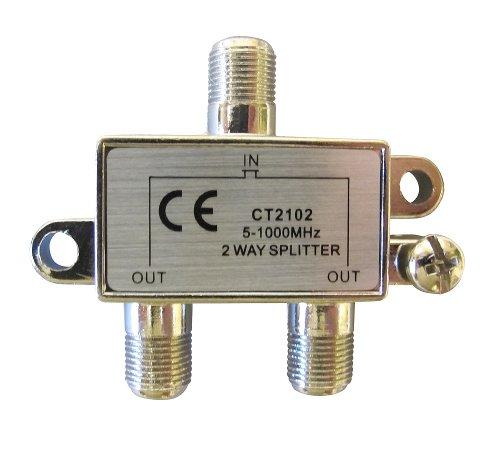 Allen Tel CT2102 Coaxial 1 GHz 2-Way Splitter