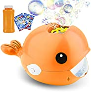 Balnore Bubble Machine,Automatic Bubble Maker 2000+ Bubble Blower for Kids,Easy to Use for Parties Wedding Bab
