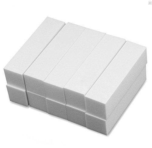 Pack of 10 The Edge White 4-Sided 220//240 Sanding Block