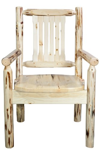 Montana Woodworks Montana Collection Captain's Chair, used for sale  Delivered anywhere in USA