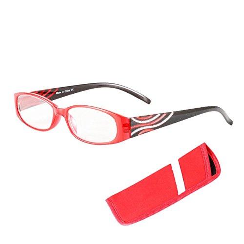de sol hombre para Lunji Gafas Rojo 5fYxTqpw