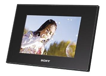sony digital photo frame a72n black dpf a72n b international version no