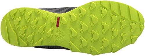 Mens Esterni Adidas Terrex Trail Tracerocker Scarpa Da Corsa Nero / Carbone / Grigio Quattro
