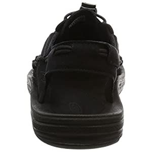 KEEN Men's UNEEK Sandal, Black/Black, 10 M US