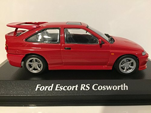 Amazon.com: Minichamps 940082100 Maxichamps 1:43 1992 Ford Escort Cosworth-Red: Toys & Games