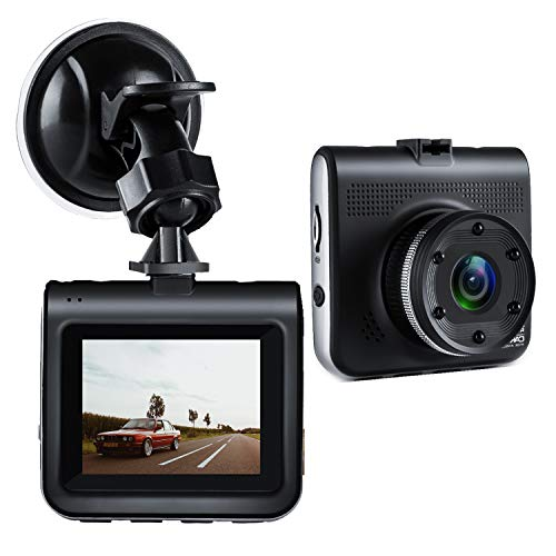 Dash Cam, Bekhic Mini Dash Camera for Cars with FHD 1080P, 2.2