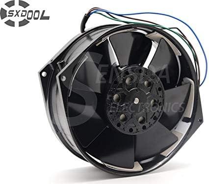 SXDOOL 5E-DVB-1 100~120//200~230VAC 50//60Hz AC Cooling Fan 150MM x 170MM x 55MM metal frame impeller