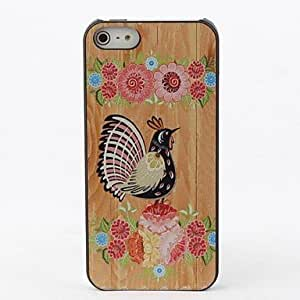 ZXC Flowers and Birds Protective Hard Back Case for iPhone 5/5S