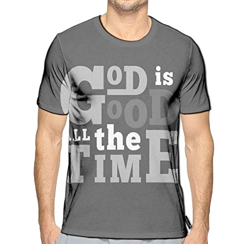 Doodle God Dolphin (Randell T-Shirt 3D Printed God Good All The Time Flying Casual)
