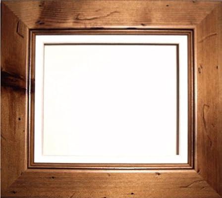 BabyRice Caja Profundidad Pantalla Marco para 2D 3D Objetos de Arte Medalla silverjgift bebé arroja 1st Patucos Flores Pino rústico/Trasera de Soporte de Color Crema/Beige: Amazon.es: Hogar