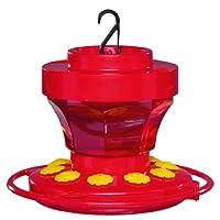 Alimentador de flores de colibrí First Nature 3091 de 16 onzas