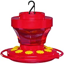 First Nature 3091 16-Ounce Hummingbird Flower Feeder