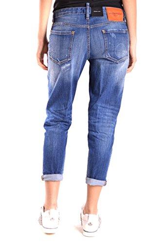Jeans Cotone Blu Donna Dsquared2 S75la0727s30342470 SwqUC0x