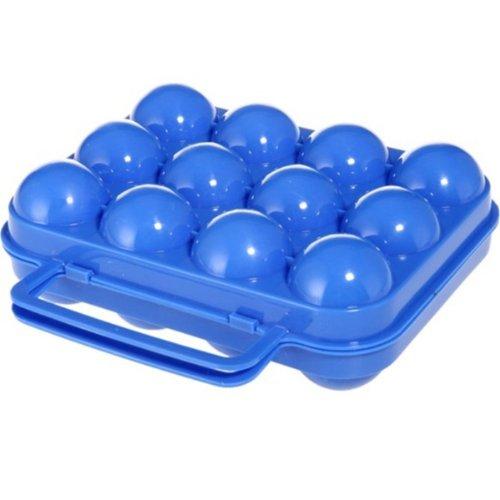 ポータブルプラスチック6 / 12卵ボックス B00OO2IJ2Q