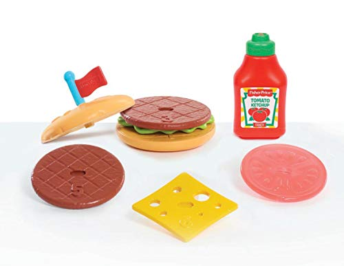 (Fisher-Price Burger Set, Multicolor)