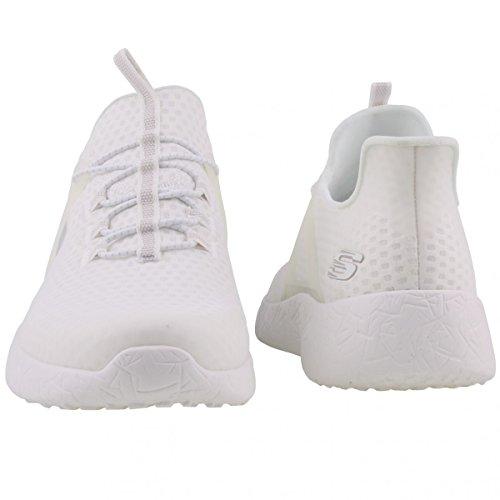 Calzado deportivo para hombre, color Blanco , marca SKECHERS, modelo Calzado Deportivo Para Hombre SKECHERS BURST SHINZ Blanco Blanco