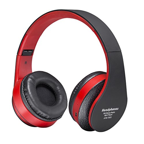 fleeken wireless bluetooth over ear headphones stereo foldable import it all. Black Bedroom Furniture Sets. Home Design Ideas
