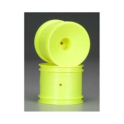 - Team Associated 7851 GT2 Rear Dish Truck Wheel, Yellow