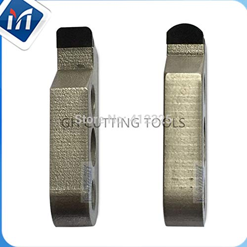 FINCOS Pcd Acrylic Polish finish Milling machining cutter L34XH12XW6 Acrylic plastics Diamond cnc Engraving turning tools - (Insert Width(mm): 6) ()
