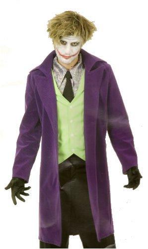 Mens MED (40-42)- Psycho Clown Costume in Velvet (Shirt/Make-up not incl) ()
