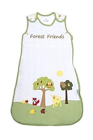 90 Schlummersack Ganzjahres Babyschlafsack  Forest Friends 2.5 Tog 70 110