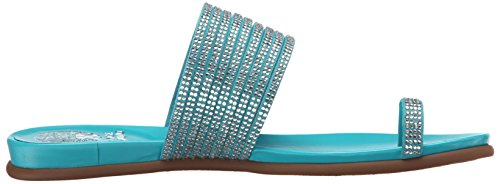 Camuto Toe Vince Eriantha Caicos Sandal Ring Women's Suede Turquoise UwRRqtd