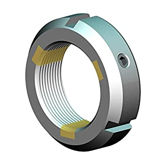 Not Self-Locking SKF KM 20 Metric M100 x 2.0 Right-Hand Thread Replaces FAG INA KM20 Standard KM 20 Generic KM20 Timken KM20, Whittet-Higgins KM 20 Threaded Shaft /& Bearing Locknut