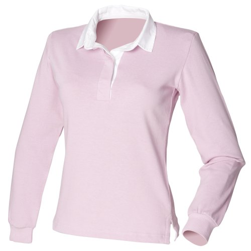 Cotone Polo Donna Front 100 Row Pink qCSwt