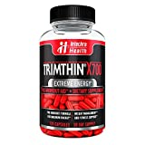 Trimthin X700 Thermogenic Diet Pills with Maximum Energy Manufactured in USA from Clinically Researched Ingredients 120 Capsules For Sale