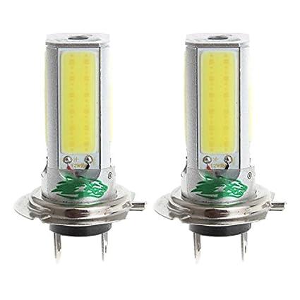 tianxiaw- zweihnder h7 24w 2300LM 6000-6500K 4xcob Bombilla LED de luz Blanca para