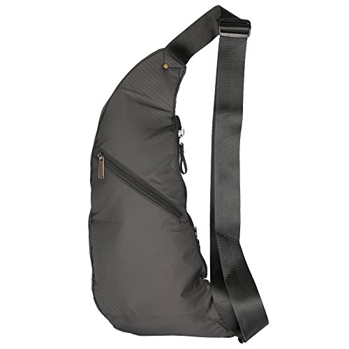 Pecho Hombro Color Negro Bolsa Vanlison Crossbody Medium De Sling Bag Bolsa Tamaño Mujeres Hombres Verde Mochila 0xXU10