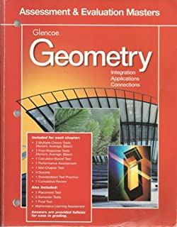 Amazon geometry integration applications connections geometry integration applications and connectionsassessment and evaluation masters 98 fandeluxe Image collections