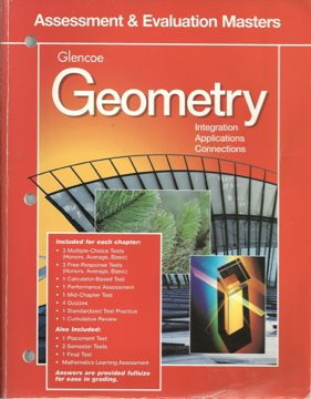 Geometry: Integration, Applications and Connections:Assessment and Evaluation Masters 98