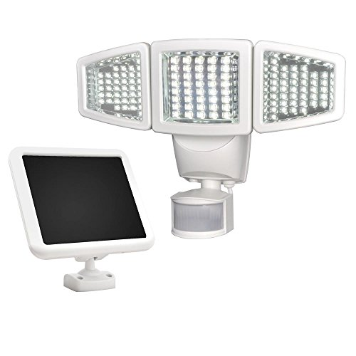 Sunforce 82123 120-LED Triple Head Solar Motion Light, 1000