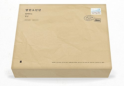 Price comparison product image BTS - 2018 SEASON'S GREETINGS Desk Calendar+Diary+Making DVD+Postcards+Extra Photo