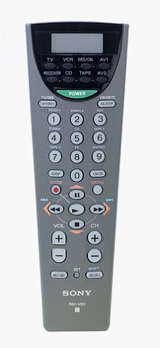 Sony RM-V60 Universal Remote Commander with LCD Display (Discontinued by Manufacturer) ()