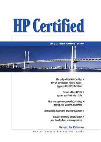 HP Certified: HP-UX System Administration