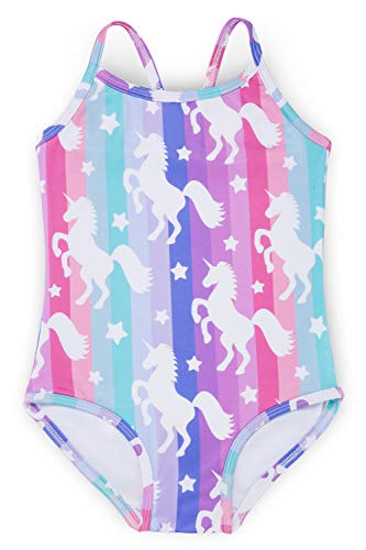Liliane Girls Swimsuits Size 8 Girls Swimsuits Size 9 Girls Bathing Suits A181-89Y ()
