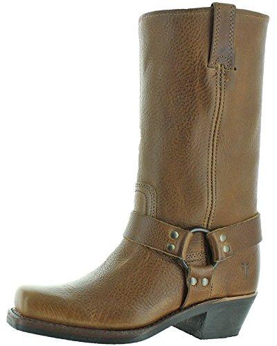 FRYE Women's Harness 12R Boot, Caramel, 8 M US