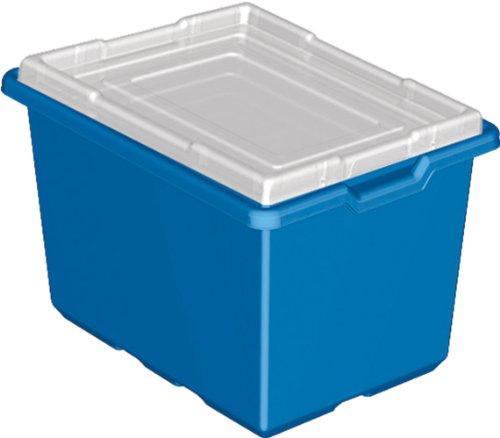 LEGO Education Blue Storage Bins, Pack of 6 Bins