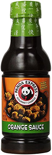 Panda Express ORANGE SAUCE 20.5oz. (Pack of 2)