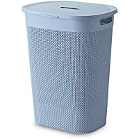 HOUZE - Mozaic Tall Laundry Basket (Blue)