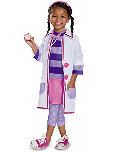 Doc Toy Hospital Deluxe Doc Mcstuffins Disney Junior Costume, Large/4-6X
